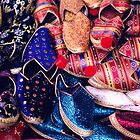 Colourful Shiny Shoes by Maya Hiort Petersen