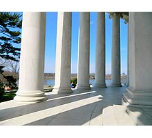 Jefferson Memorial - DC Photographic Print