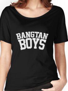 BTS/Bangtan Boys - University/Football Style 2 Women's Relaxed Fit T-Shirt