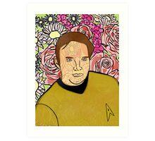 Kirk Bouquet Art Print