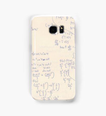 Calculus Homework(the flux) Samsung Galaxy Case/Skin