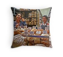 Our Daily Bread Throw Pillow