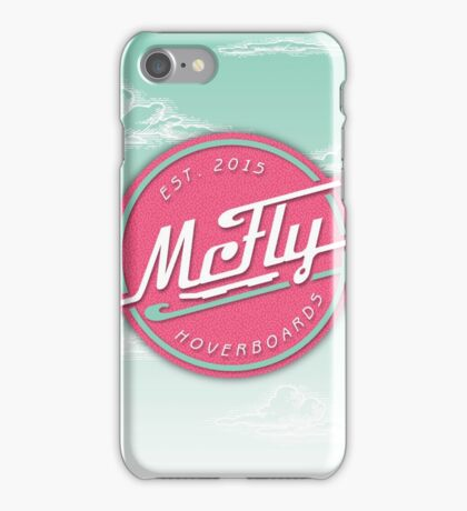 McFly Hoverboards iPhone Case/Skin