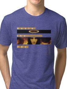 Haste the Day Burning Bridges Tri-blend T-Shirt