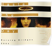 Haste the Day Burning Bridges Poster