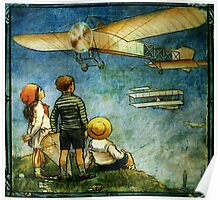 Little Yellow Aeroplane Poster