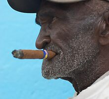 Cuban man, Trinidad, Cuba. by Andy Kilmartin