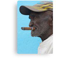 Cuban man, Trinidad, Cuba. Canvas Print
