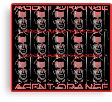 Agent Orange... Canvas Print