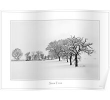 Snow Trees, Lovedean Poster