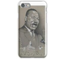 MLK by Sheik iPhone Case/Skin