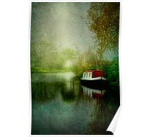 The Misty Canal Poster