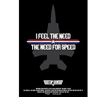 I Feel the Need for Speed Photographic Print