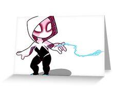 Smol Spider-Gwen Greeting Card