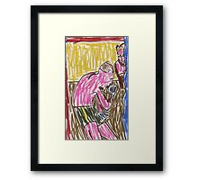 "Drawing: ""Francis Bacon Archive I (2010) (Boxing)"" by artcollect Framed Print"
