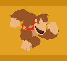 Donkey Kong - Super Smash Bros. Minimalist by wefit