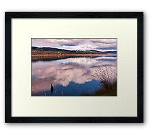 A River of Clouds Framed Print