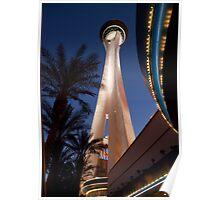 Stratosphere in Las Vegas Poster