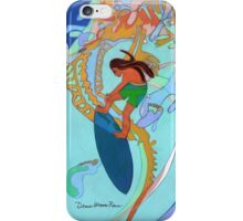 Hang Ten Over Boney Reefs iPhone Case/Skin