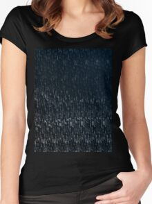 Knitted Stone. Women's Fitted Scoop T-Shirt