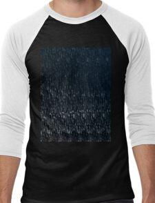Knitted Stone. Men's Baseball ¾ T-Shirt
