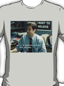 Always A Slut For Aliens T-Shirt