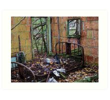 Rest Well at the Haven Modern Motel Art Print