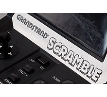 Grandstand scramble Photographic Print