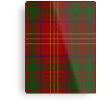 00033 Burns 1930 Clan Tartan  Metal Print