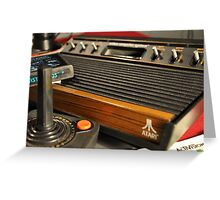 Atari VCS Greeting Card