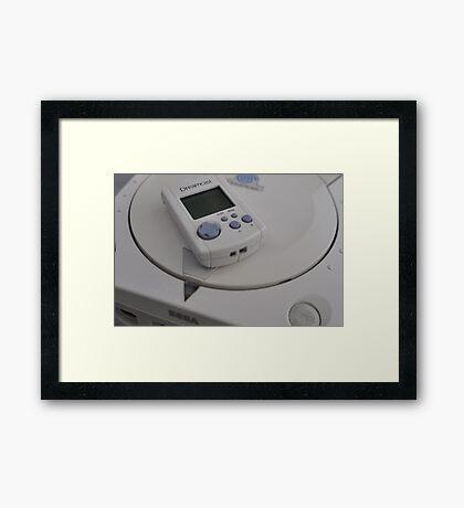 Sega Dreamcast Framed Print