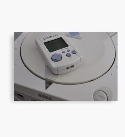Sega Dreamcast Canvas Print