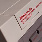 Nintendo NES by billlunney