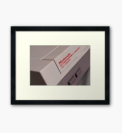 Nintendo NES Framed Print