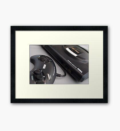 Sega Megadrive Framed Print