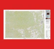 USGS Topo Map Oregon Cottage Grove 283068 1979 100000 Kids Tee