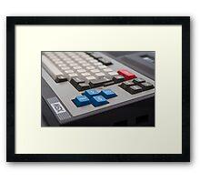Toshiba MSX Framed Print