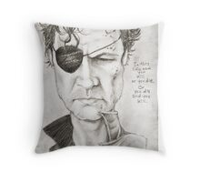 Walking Dead The Governor by Sheik Throw Pillow