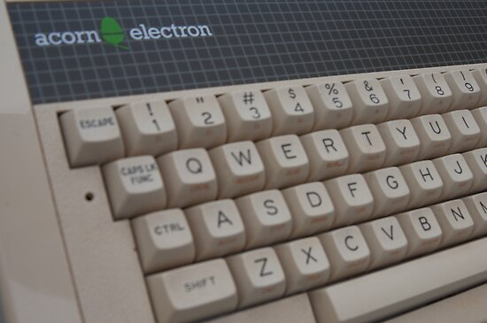 Acorn Electron by billlunney
