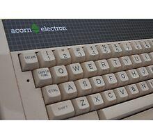 Acorn Electron Photographic Print