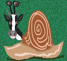Cow Snail In The Meadow by pinkyjainpan