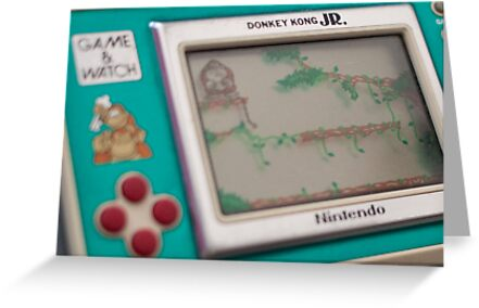 Nintendo game & watch - Donkey Kong by billlunney