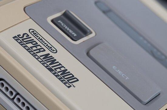 Super Nintendo (SNES) by billlunney