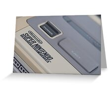 Super Nintendo (SNES) Greeting Card