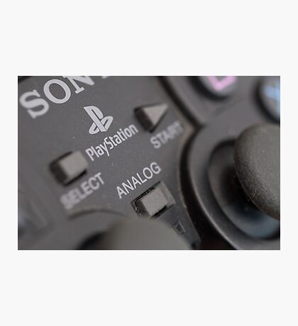 Sony Playstation controller Photographic Print