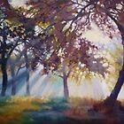 Apple Orchard by Diana Davydova