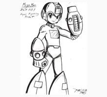Mega Man by Kid-Sinatra