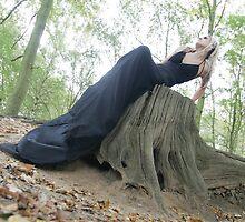Black dress on tree by gpedliham