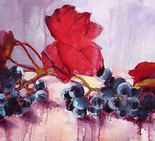 Blue Grape by Diana Davydova