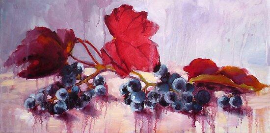 Blue Grape by Diana Davydova